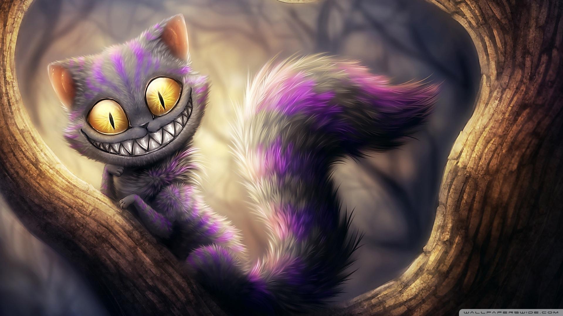 cheshire cat, alice's adventures in wonderland ❤ 4k hd desktop
