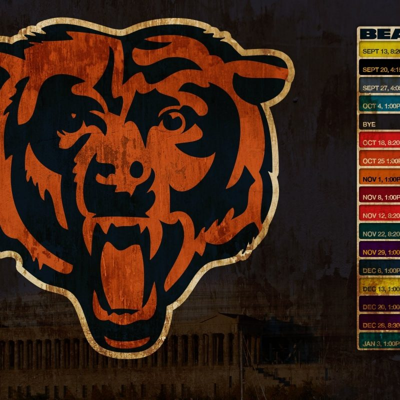 10 Best Cool Chicago Bears Logo FULL HD 1920×1080 For PC Desktop 2020 free download chicago bears 308530 walldevil 800x800