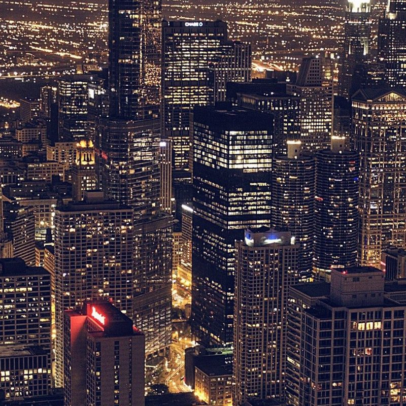 10 Most Popular Chicago Skyline Iphone Wallpaper FULL HD 1080p For PC Background 2018 free download chicago city aertial view night iphone 6 plus hd wallpaper 800x800