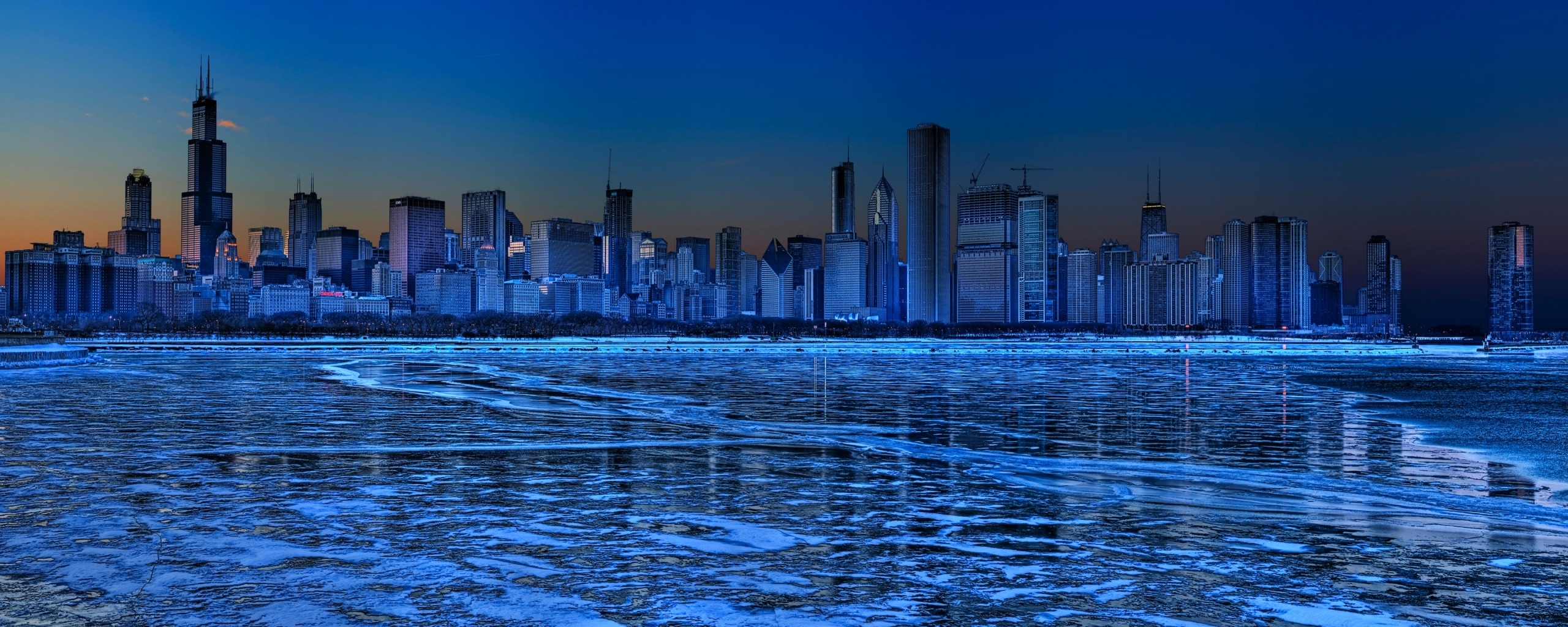 chicago dual monitor wallpapers | hd wallpapers | id #8227