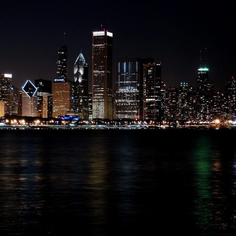 10 Top Chicago Skyline At Night Wallpaper FULL HD 1920×1080 For PC Desktop 2021 free download chicago skyline backgrounds wallpaper cave 2 800x800