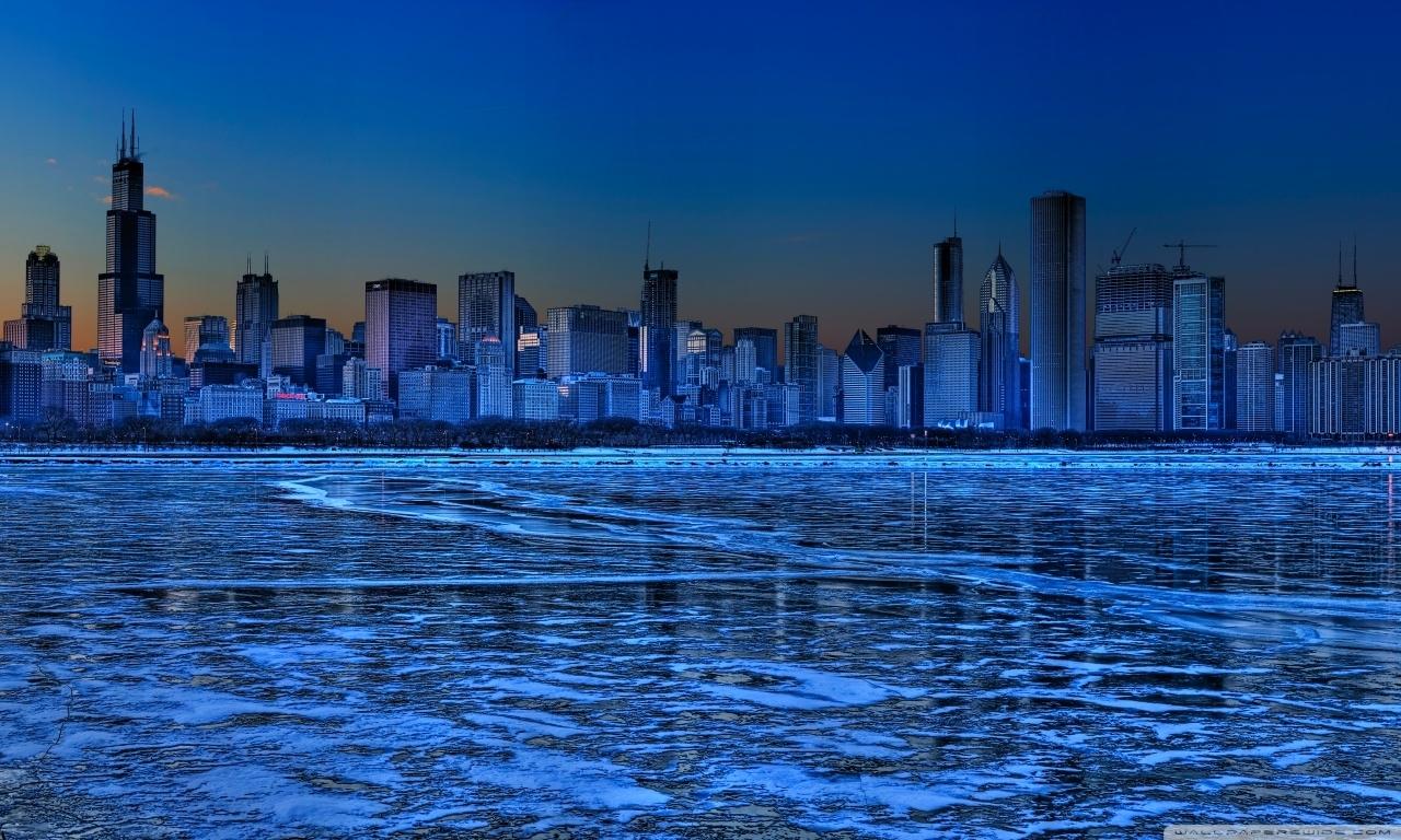 chicago skyline ❤ 4k hd desktop wallpaper for 4k ultra hd tv • dual
