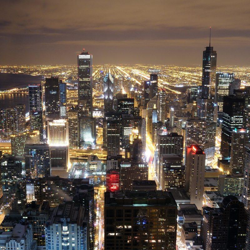10 Top Chicago Skyline At Night Wallpaper FULL HD 1920×1080 For PC Desktop 2021 free download chicago skyline from john hancock e29da4 4k hd desktop wallpaper for 4k 4 800x800