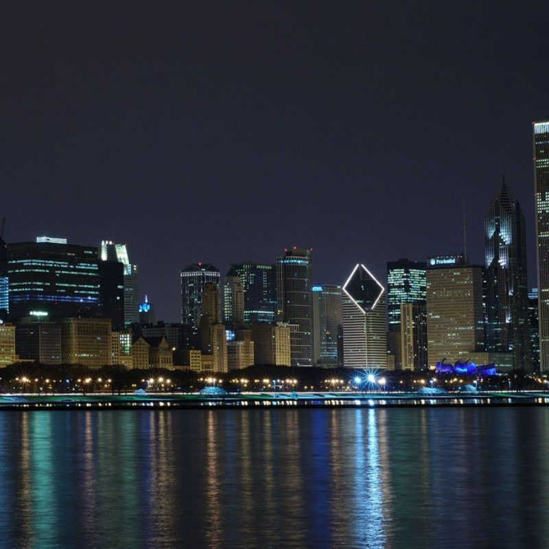 10 Top Chicago Skyline At Night Wallpaper FULL HD 1920×1080 For PC Desktop 2021 free download chicago skyline wallpaper chicago love pinterest chicago 800x800