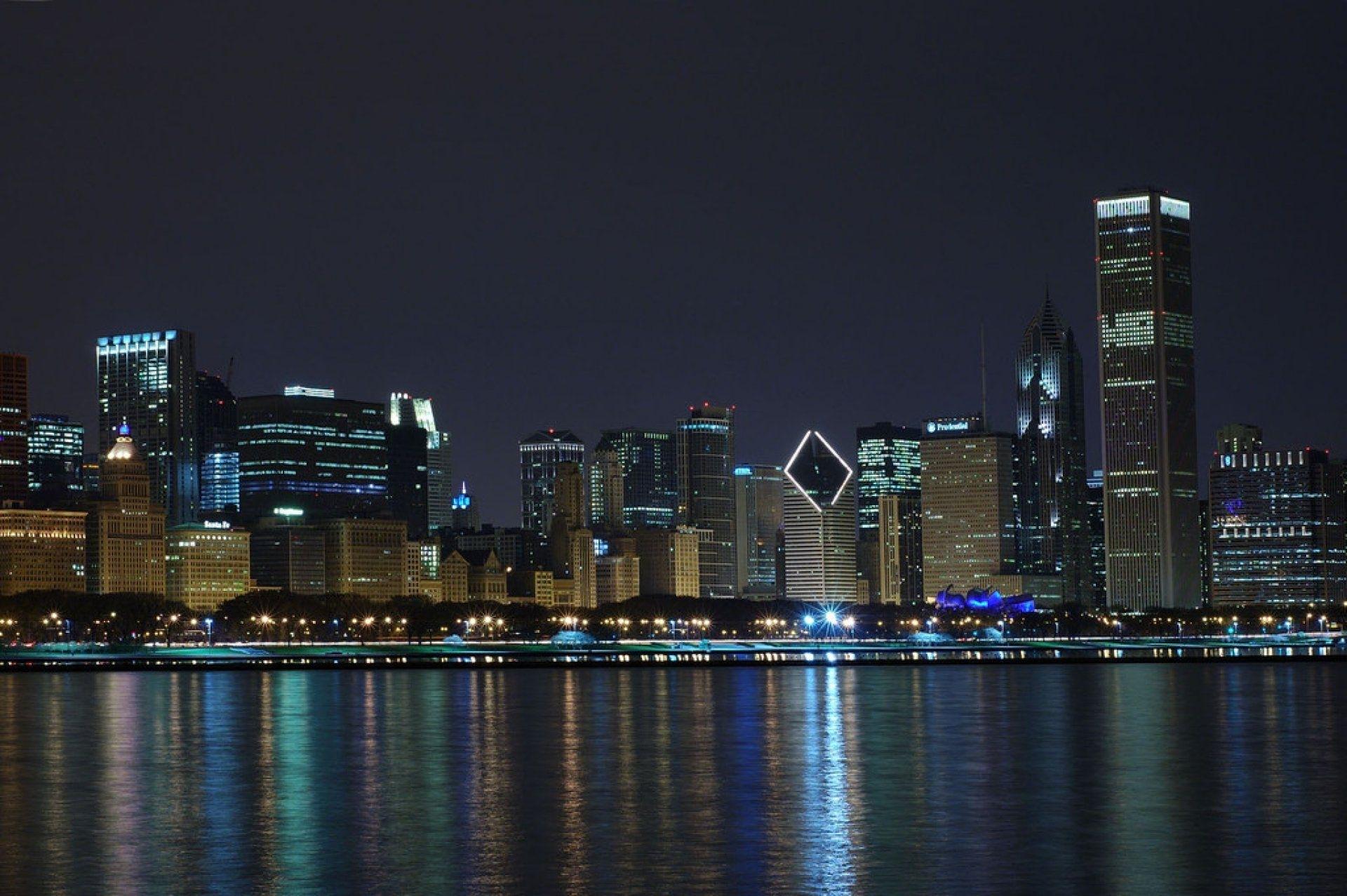 chicago skyline wallpaper. | chicago love | pinterest | chicago