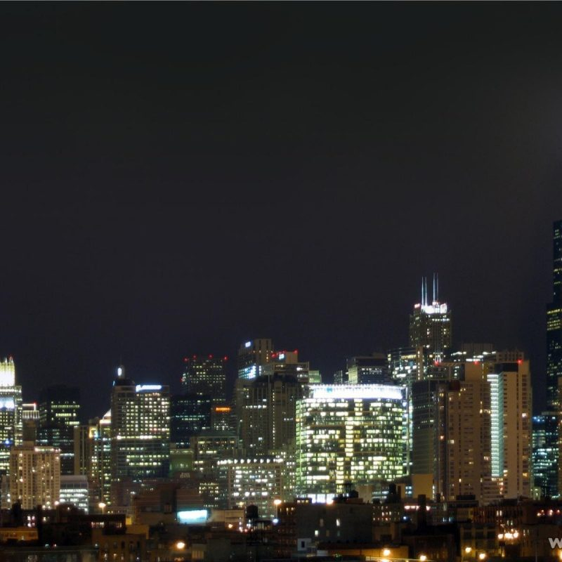 10 Top Chicago Skyline At Night Wallpaper FULL HD 1920×1080 For PC Desktop 2021 free download chicago skyline wallpapers group 80 800x800