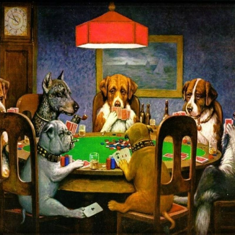 10 Top Dogs Playing Poker Wallpaper FULL HD 1920×1080 For PC Desktop 2018 free download cho choi poker wallpapers wallpaper cave lien quan den cho poker 800x800