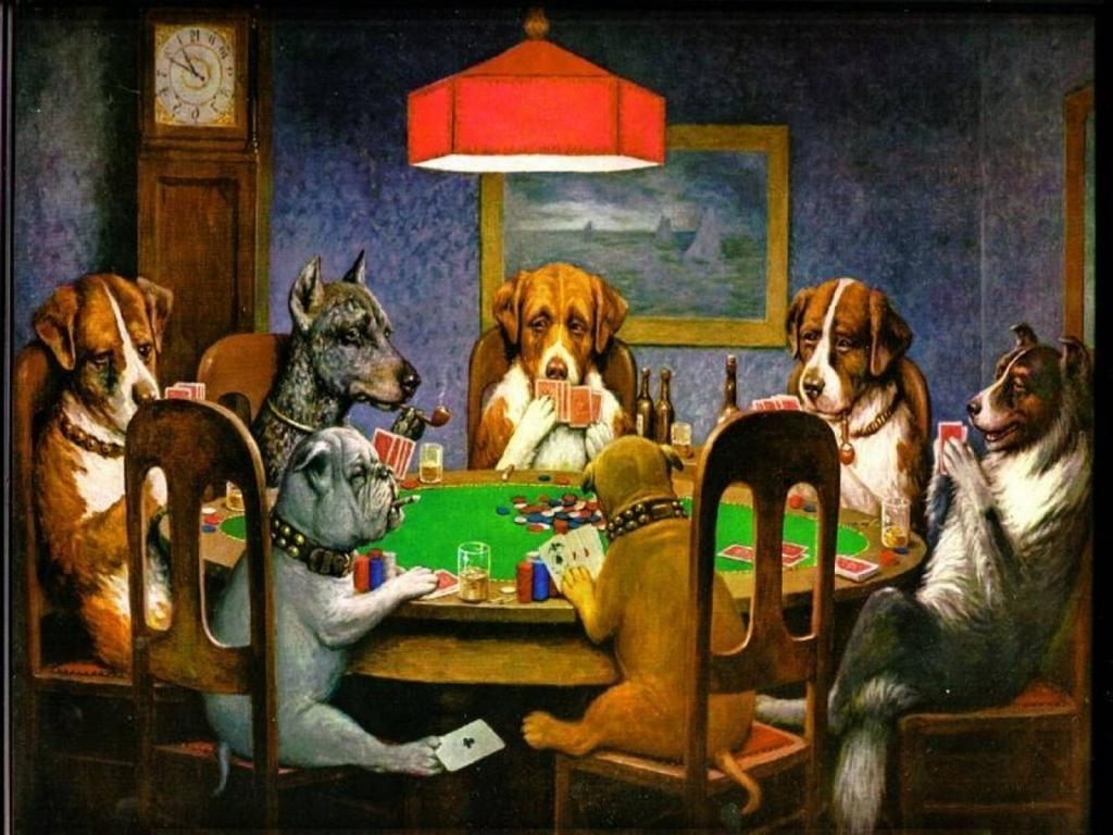 chó chơi poker wallpapers wallpaper cave liên quan đến chó poker