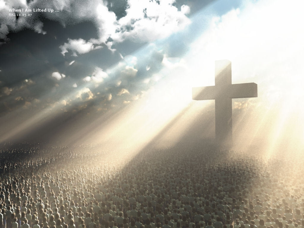 christian character builder club images light shineing to the cross