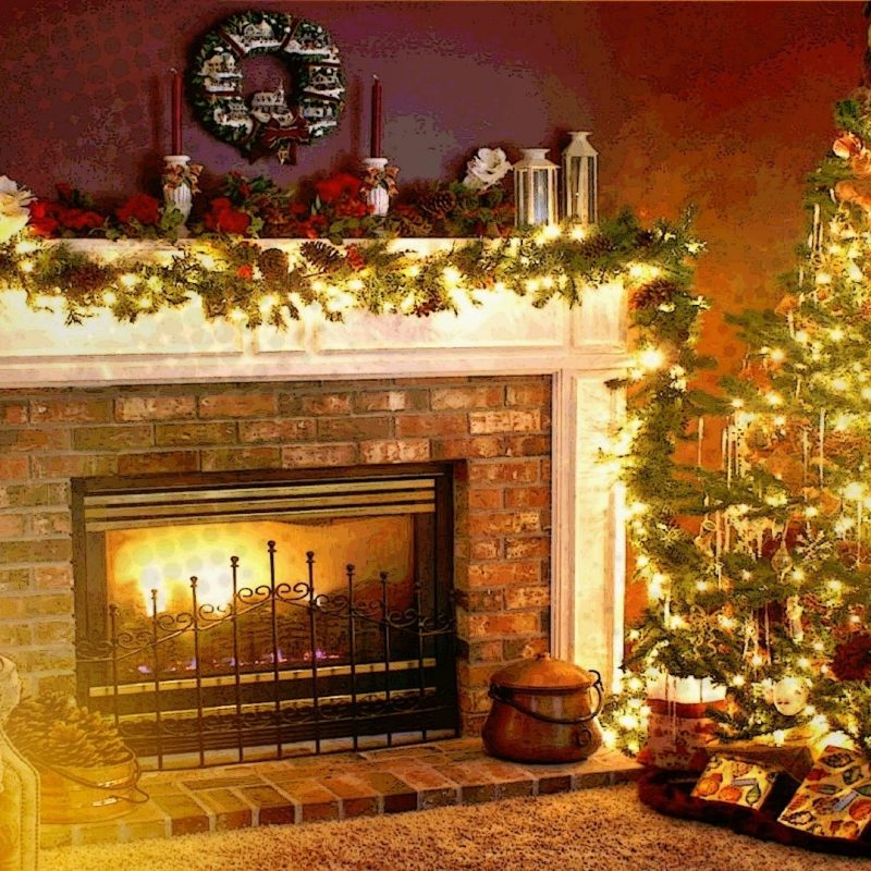 10 most popular free christmas fireplace desktop backgrounds full hd 19201080 for pc background - Home Free Christmas