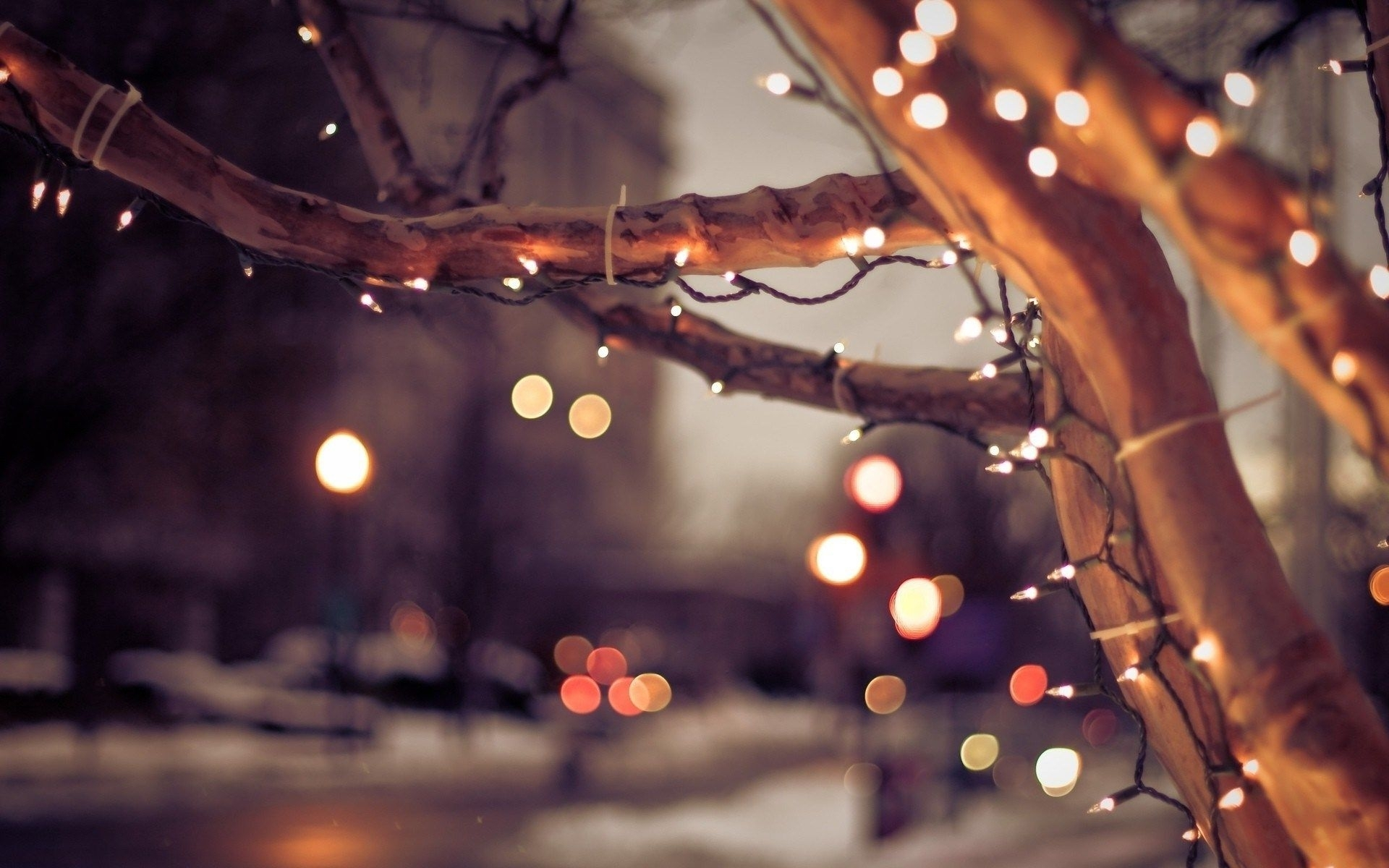 christmas lights desktop hd wallpapers | sharovarka | pinterest