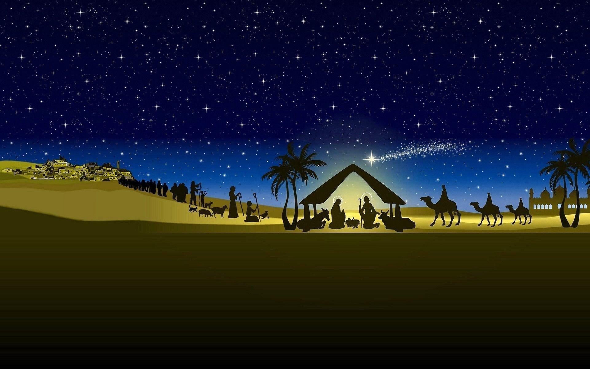 christmas nativity backgrounds - wallpaper cave