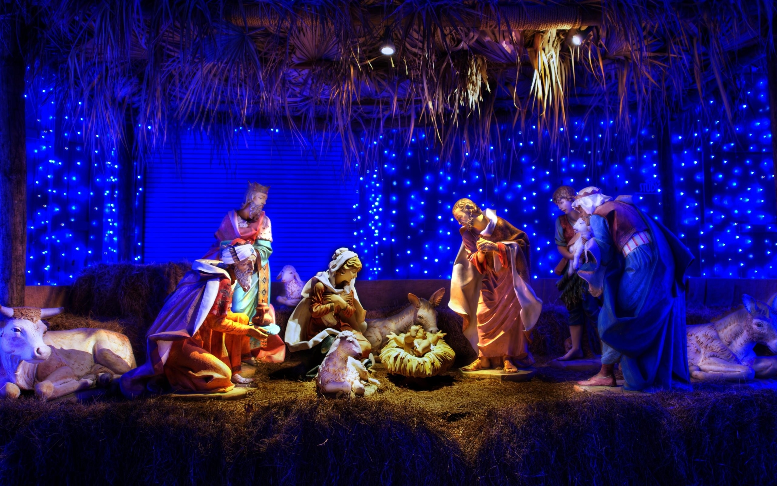 christmas nativity scene wallpaper (59+ images)