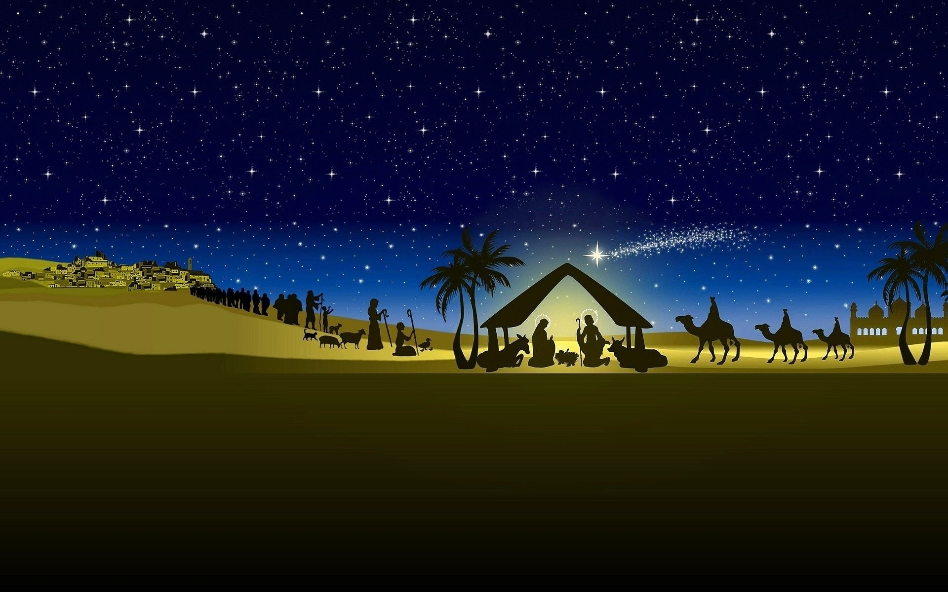 christmas nativity scene wallpaper ·① download free hd backgrounds