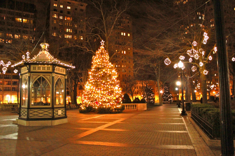 10 Most Popular Christmas In The City Wallpaper FULL HD 1920×1080 For PC Background 2018 free download christmas photography backgrounds city lights street beauty 800x533