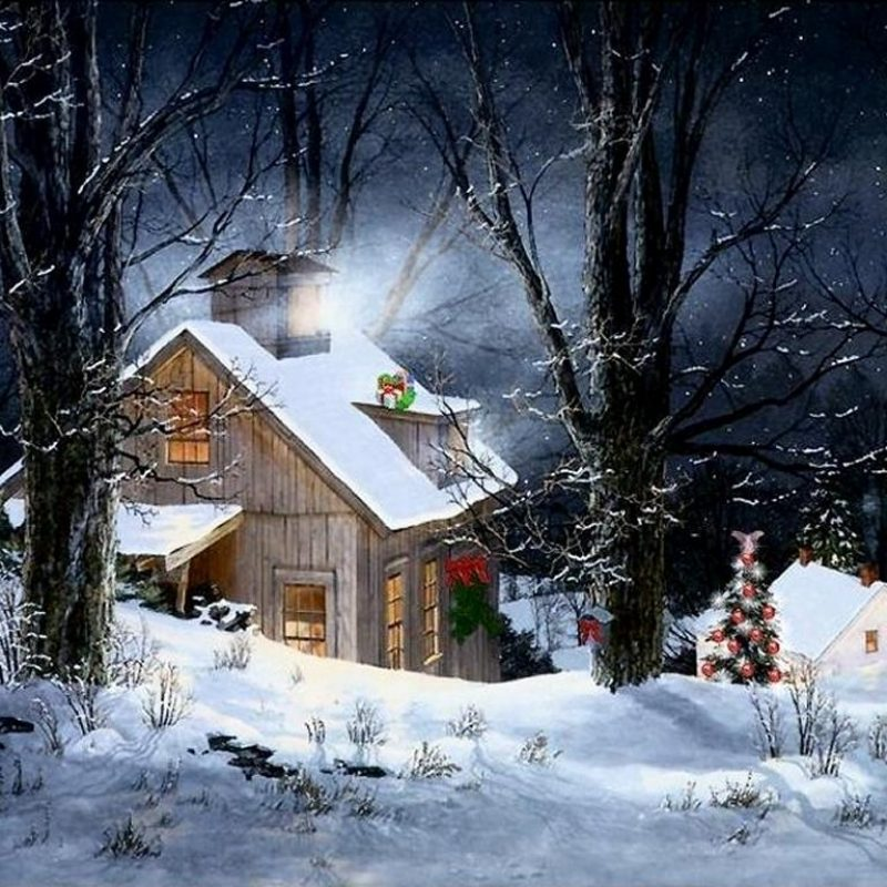 10 Top Christmas Scene Wallpaper Backgrounds FULL HD 1920×1080 For PC Background 2020 free download christmas snow scene wallpapers wallpaper cave 1 800x800