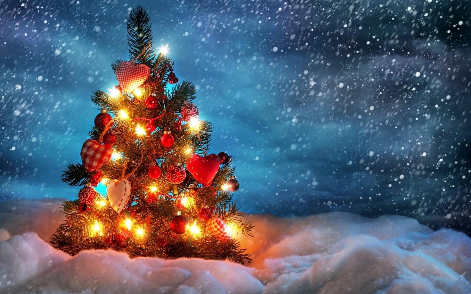 christmas tree wallpapers - free | hd