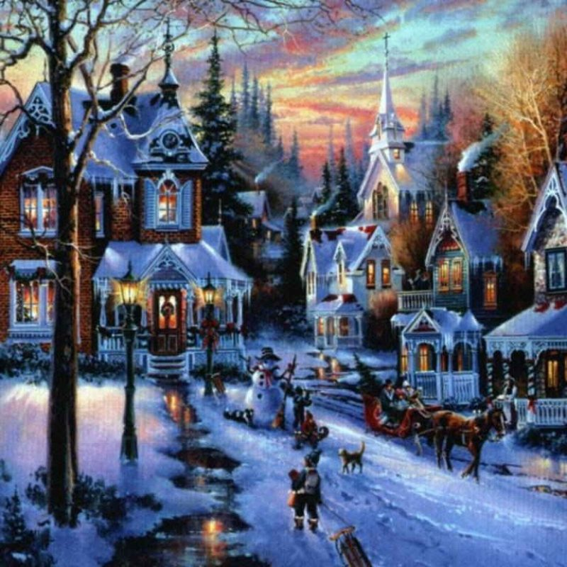 10 Top Christmas Town Wallpaper Hd FULL HD 1920×1080 For PC Background 2018 free download %name