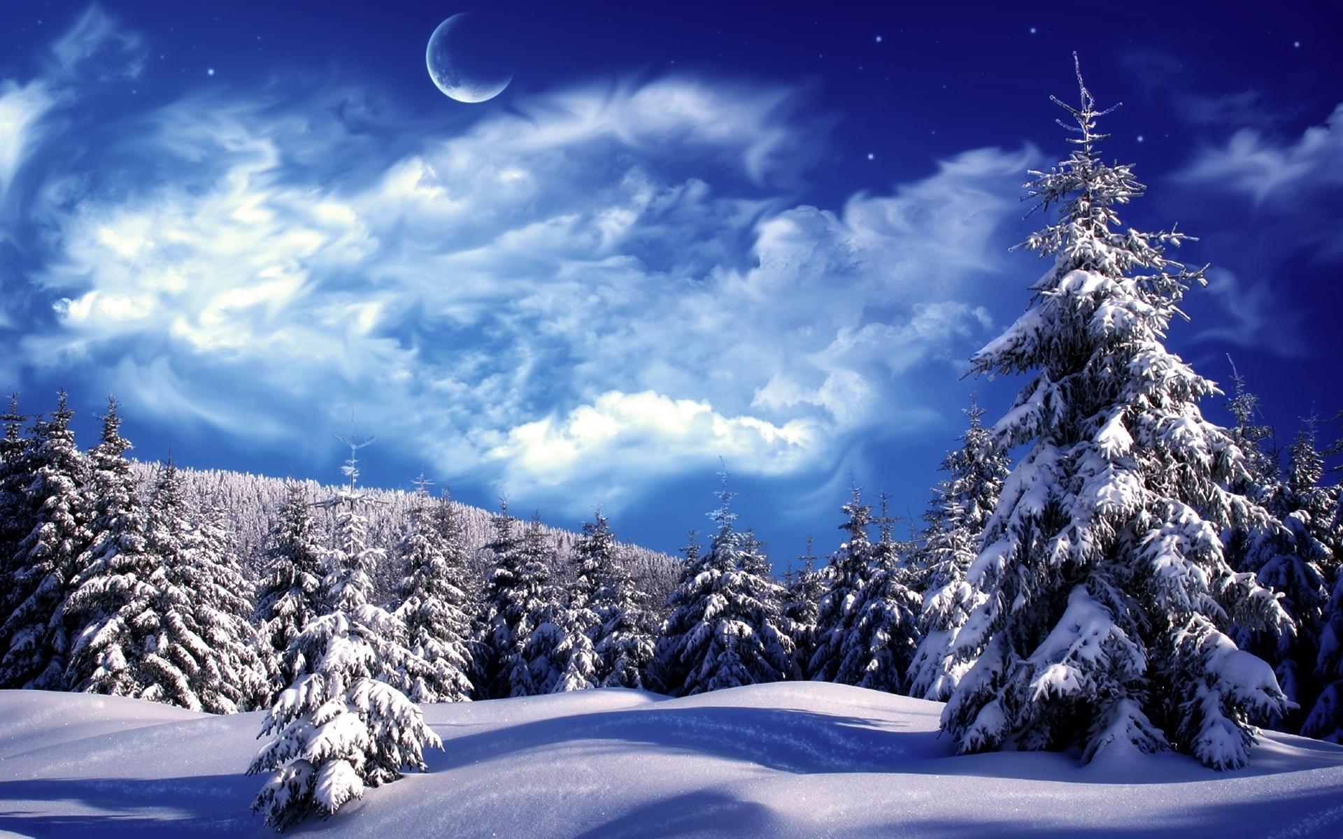 christmas winter scenes free desktop wallpaper winter scenes | hd