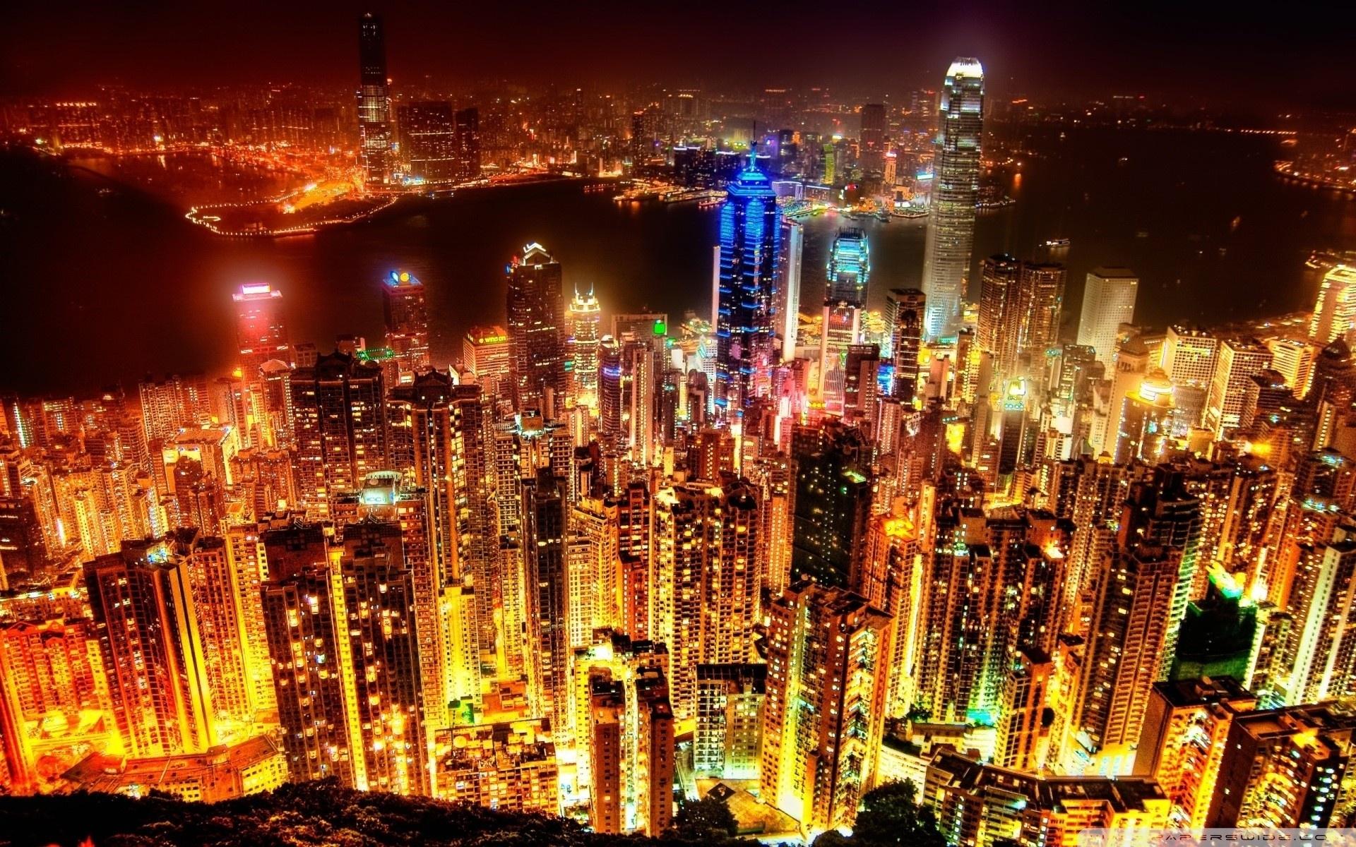 city lights ❤ 4k hd desktop wallpaper for 4k ultra hd tv • tablet