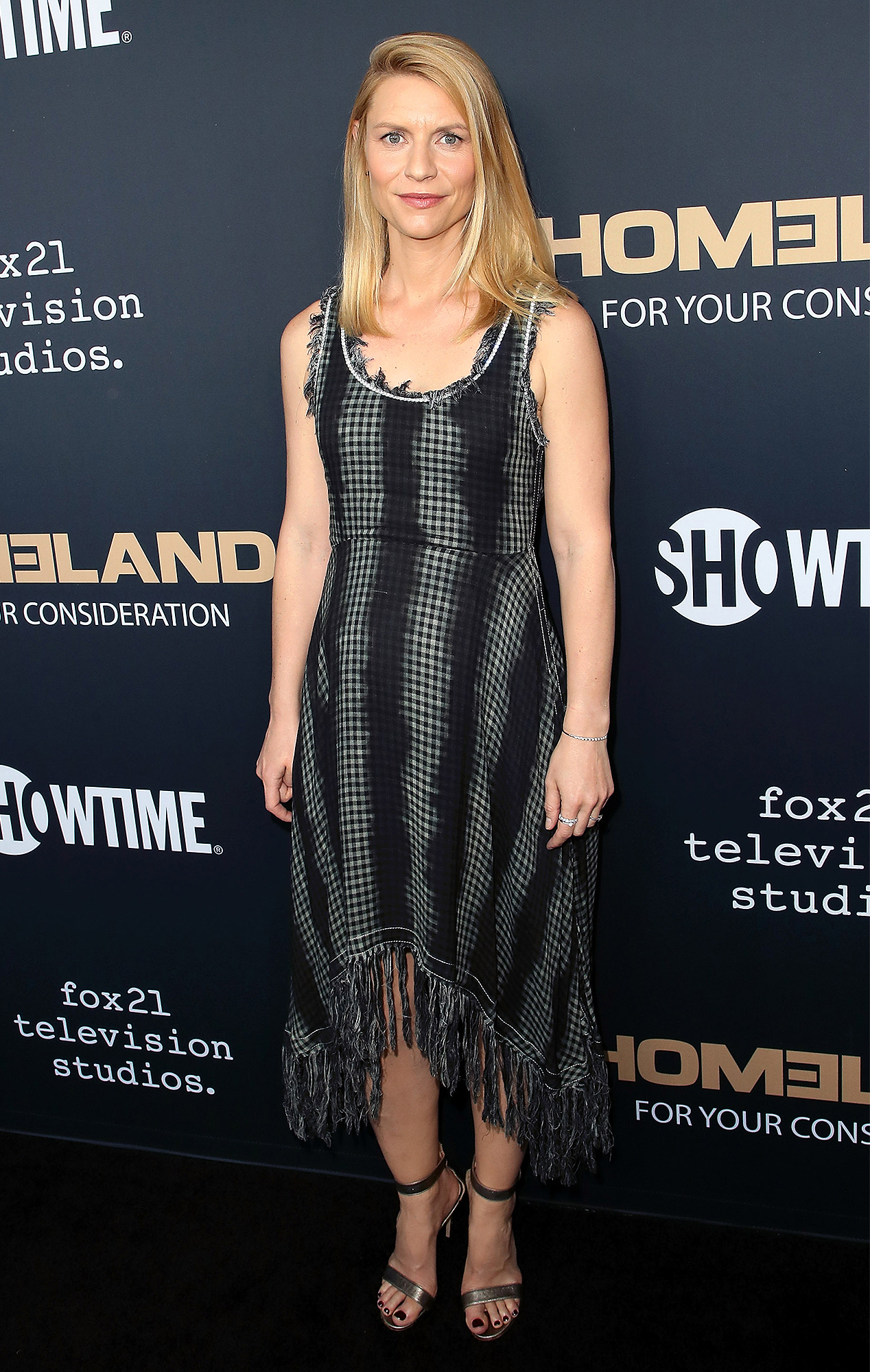 claire danes is enjoying pregnancy while on hiatus from filming