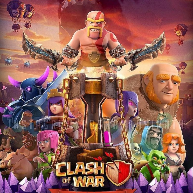 10 Most Popular Clash Of Clans Photos FULL HD 1080p For PC Background 2018 free download clash of clans clash pinterest jeux videos les jeux videos et 800x800