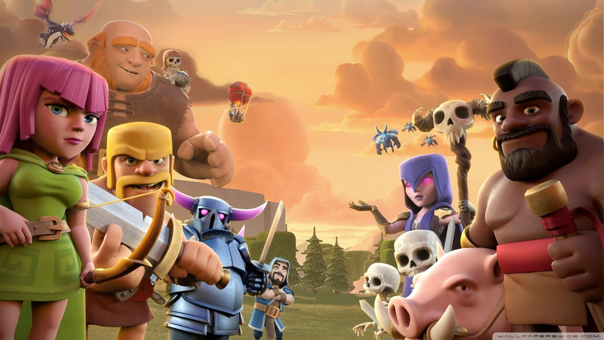 clash of clans ❤ 4k hd desktop wallpaper for 4k ultra hd tv
