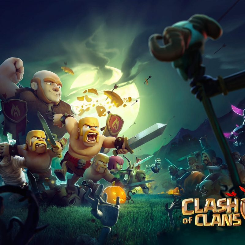 10 Latest Clash Of Clans Wallpapers Hd FULL HD 1920×1080 For PC Desktop 2020 free download clash of clans halloween character wallpaper hd desktop pics for pc 800x800