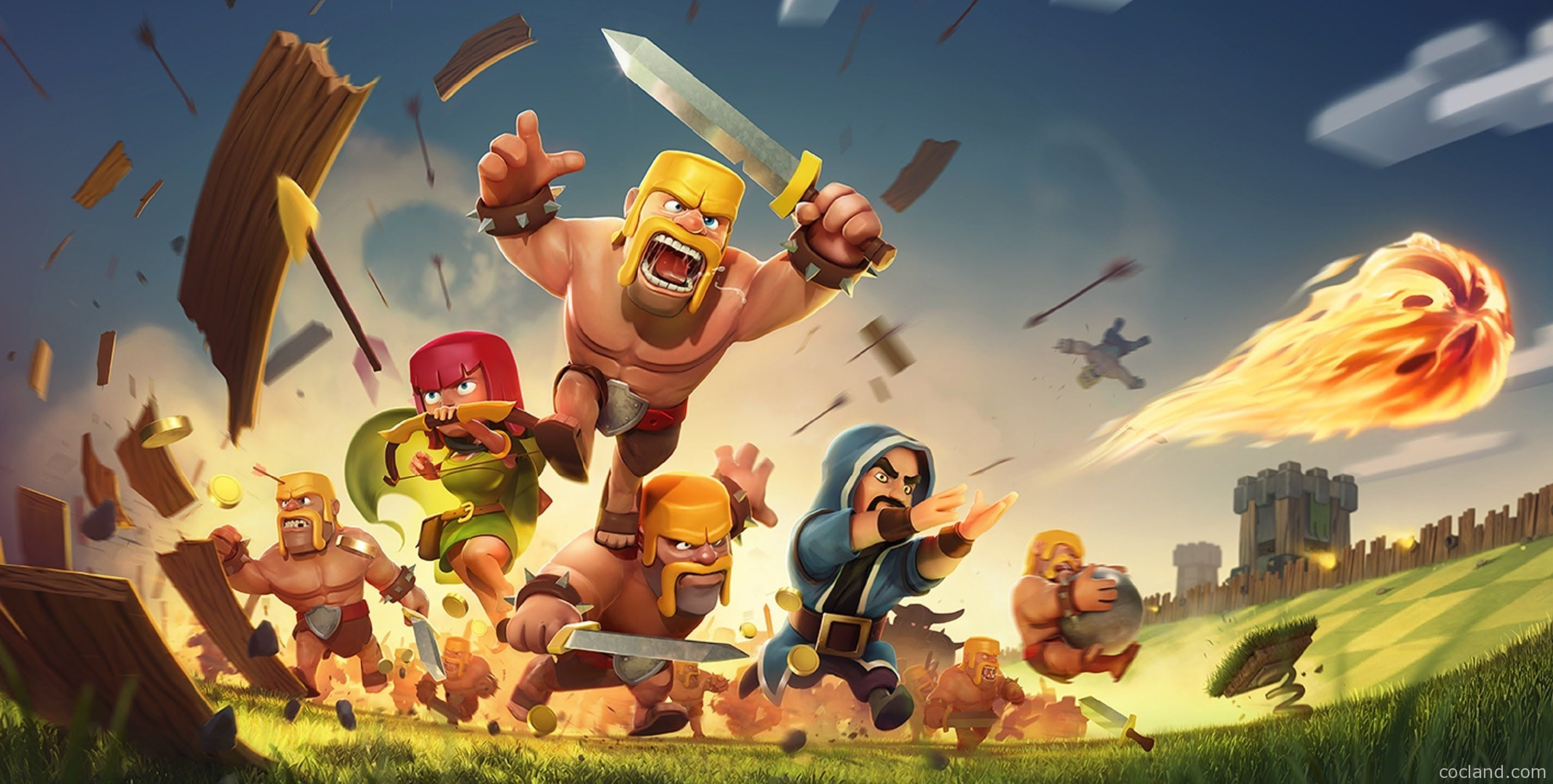 clash of clans troops wallpapers - wallpaper cave