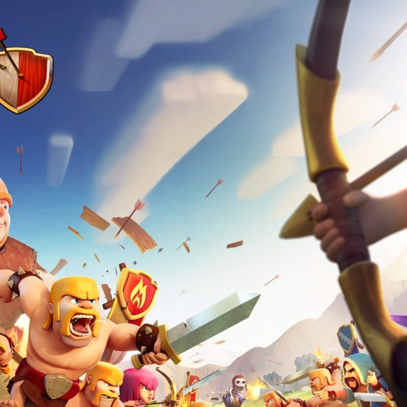 10 Most Popular Clash Of Clans Photos FULL HD 1080p For PC Background 2018 free download clash of clans x supercell 1 800x800