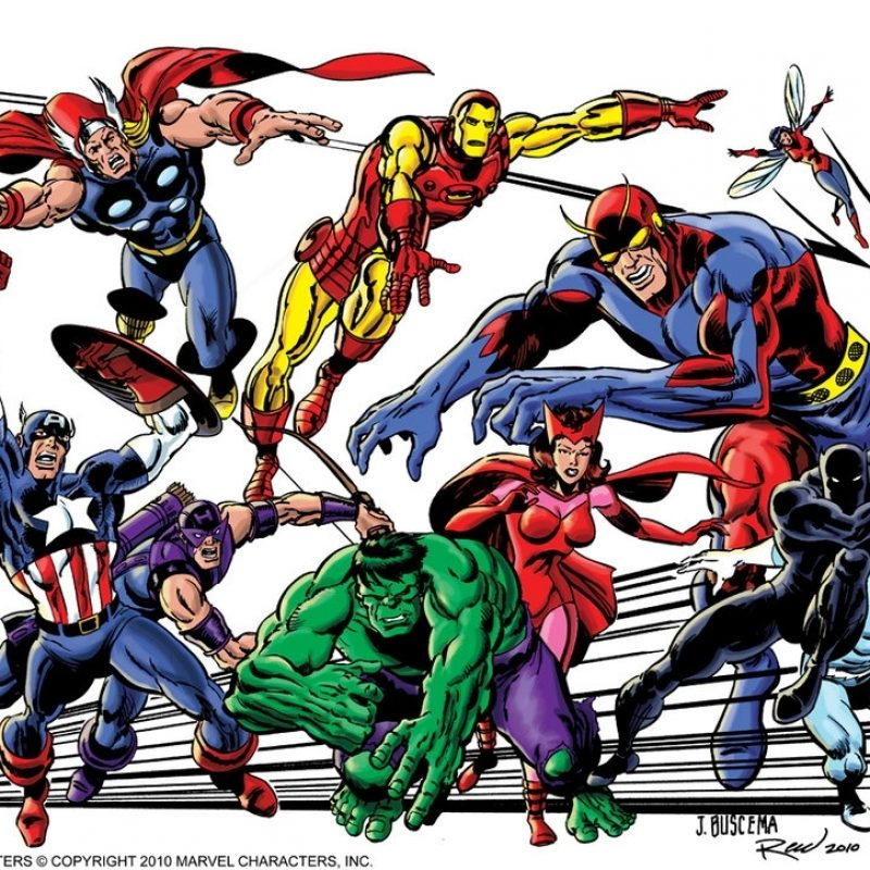 10 Most Popular Avengers Classic Comic Wallpaper FULL HD 1920×1080 For PC Background 2018 free download classic avengersscottreed on deviantart 800x800