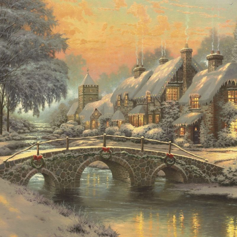 10 Best Free Thomas Kinkade Christmas Screensavers FULL HD 1920×1080 For PC Background 2021 free download classic christmas paintingthomas kinkade e29da4 4k hd desktop 800x800