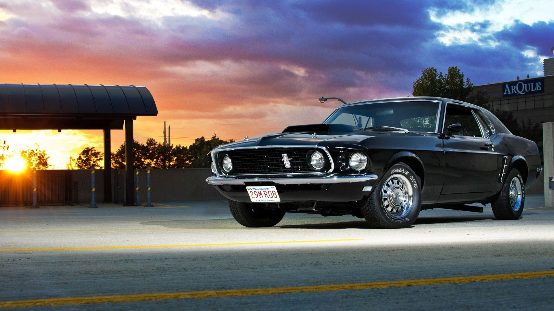 classic ford mustang wallpapers group (79+)