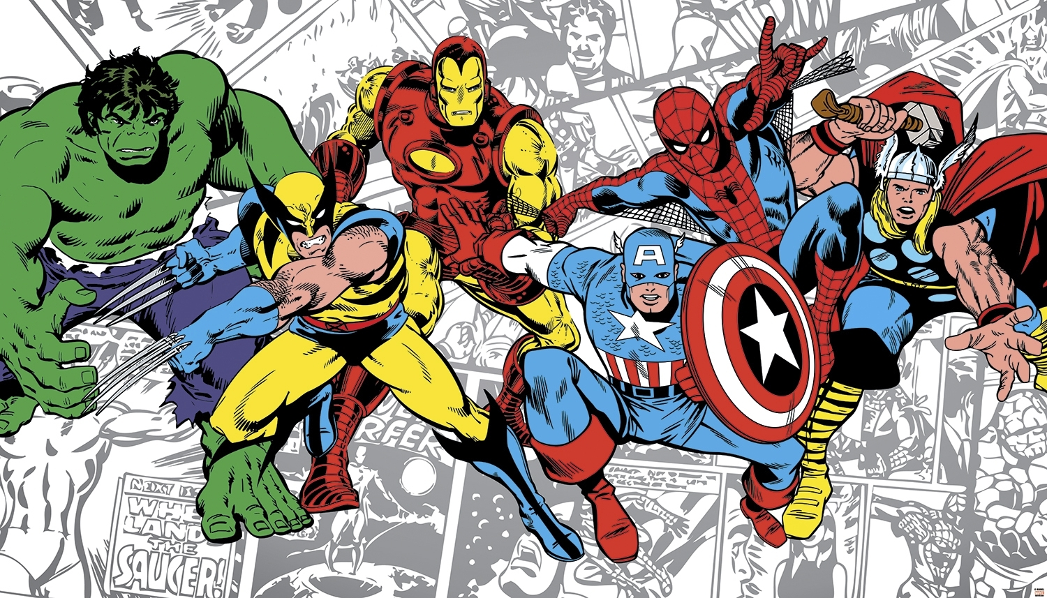 classic marvel comics wallpaper marvel classics character | craft
