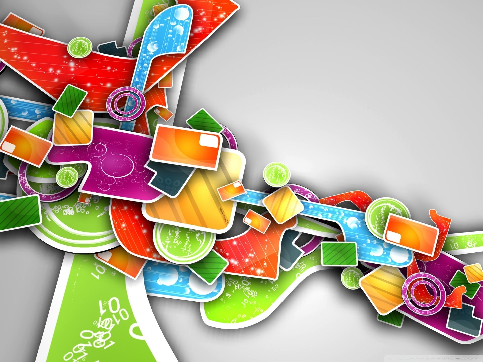 colorful abstract 3d art ❤ 4k hd desktop wallpaper for 4k ultra hd