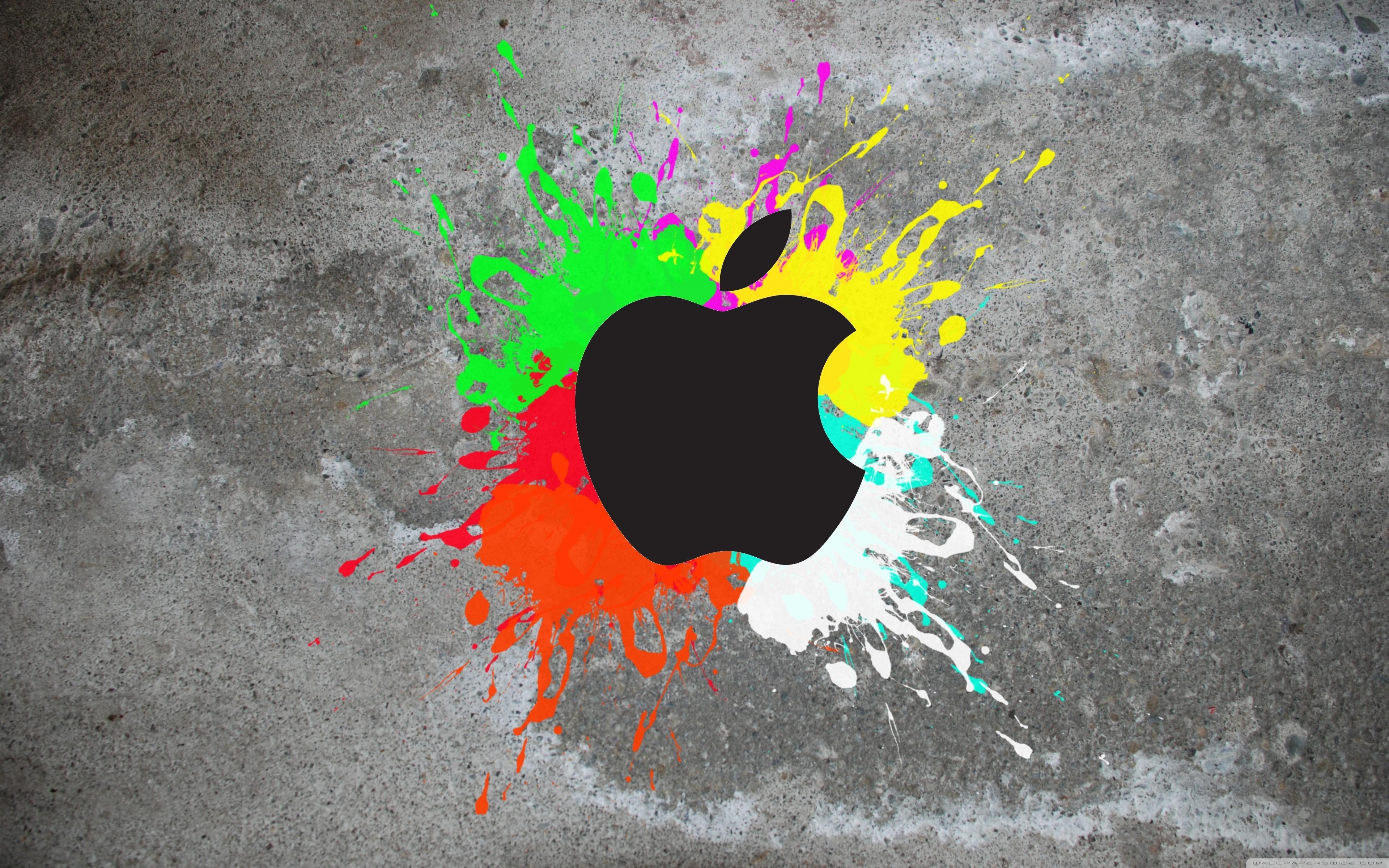 colorful apple ❤ 4k hd desktop wallpaper for 4k ultra hd tv • wide