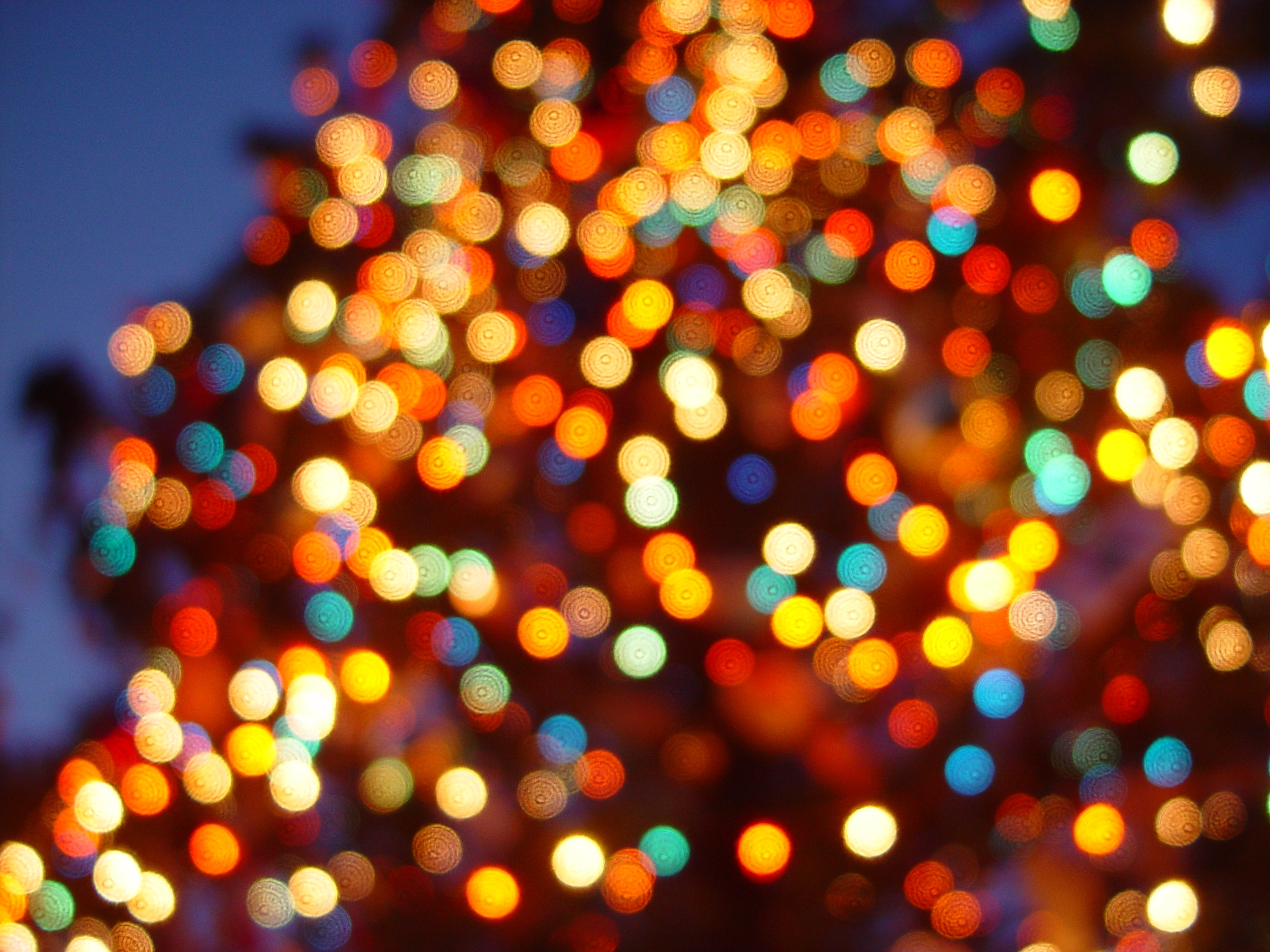 colorful led christmas lights - wallpaper, high definition, high