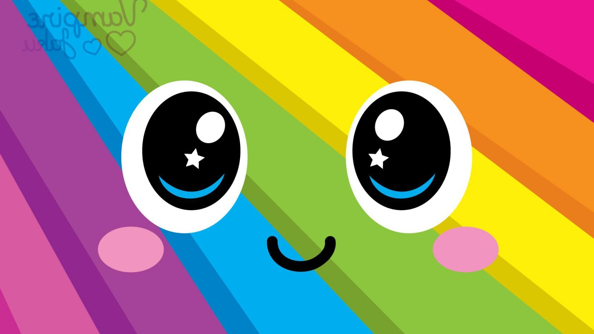 colorful smiley face hd desktop wallpaper, instagram photo