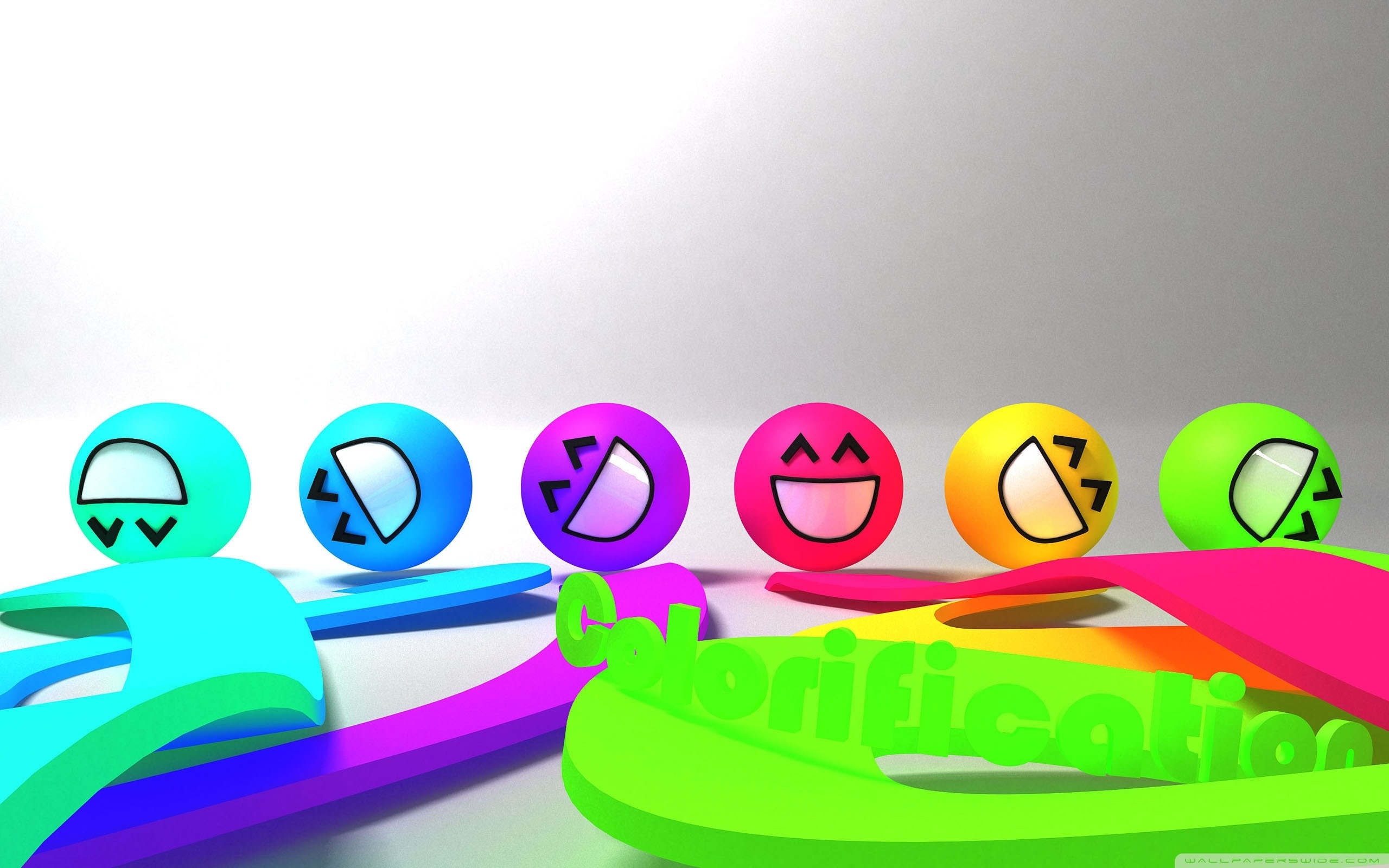 colorful smiley faces ❤ 4k hd desktop wallpaper for 4k ultra hd tv