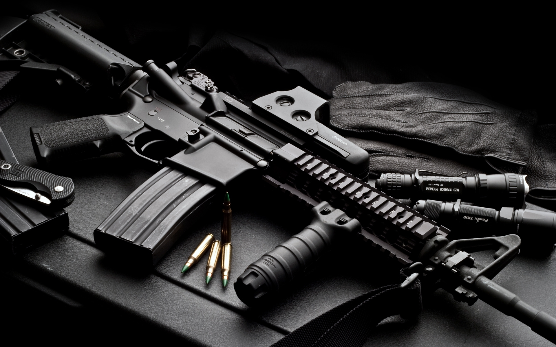 colt ar-15 full hd wallpaper and background image | 1920x1200 | id:96814