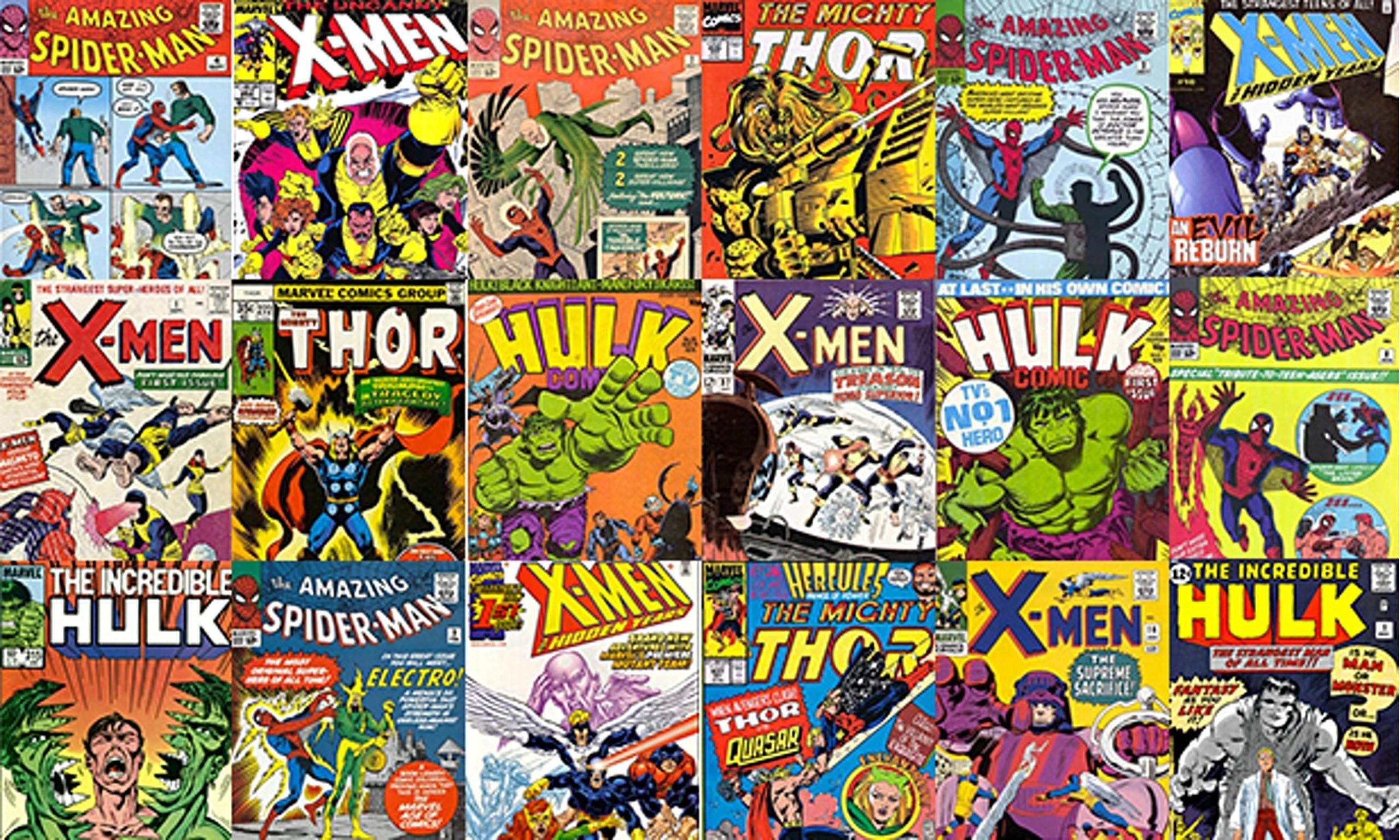comic book cover wallpaper (49+ images)