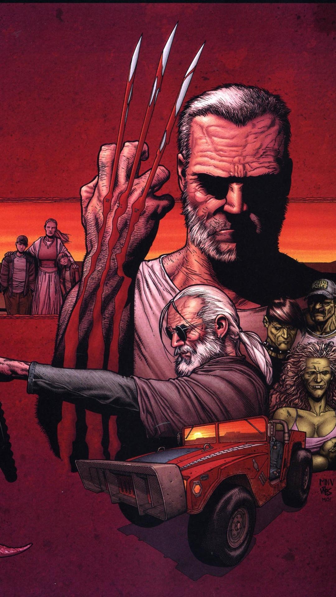 comics/old man logan (1080x1920) wallpaper id: 668851 - mobile abyss