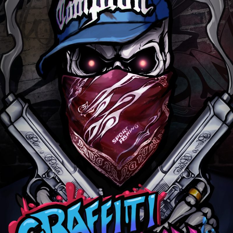 10 Best Skull Wallpaper For Android FULL HD 1080p For PC Background 2018 free download cool graffiti skull wallpaper hip hop style android live 800x800