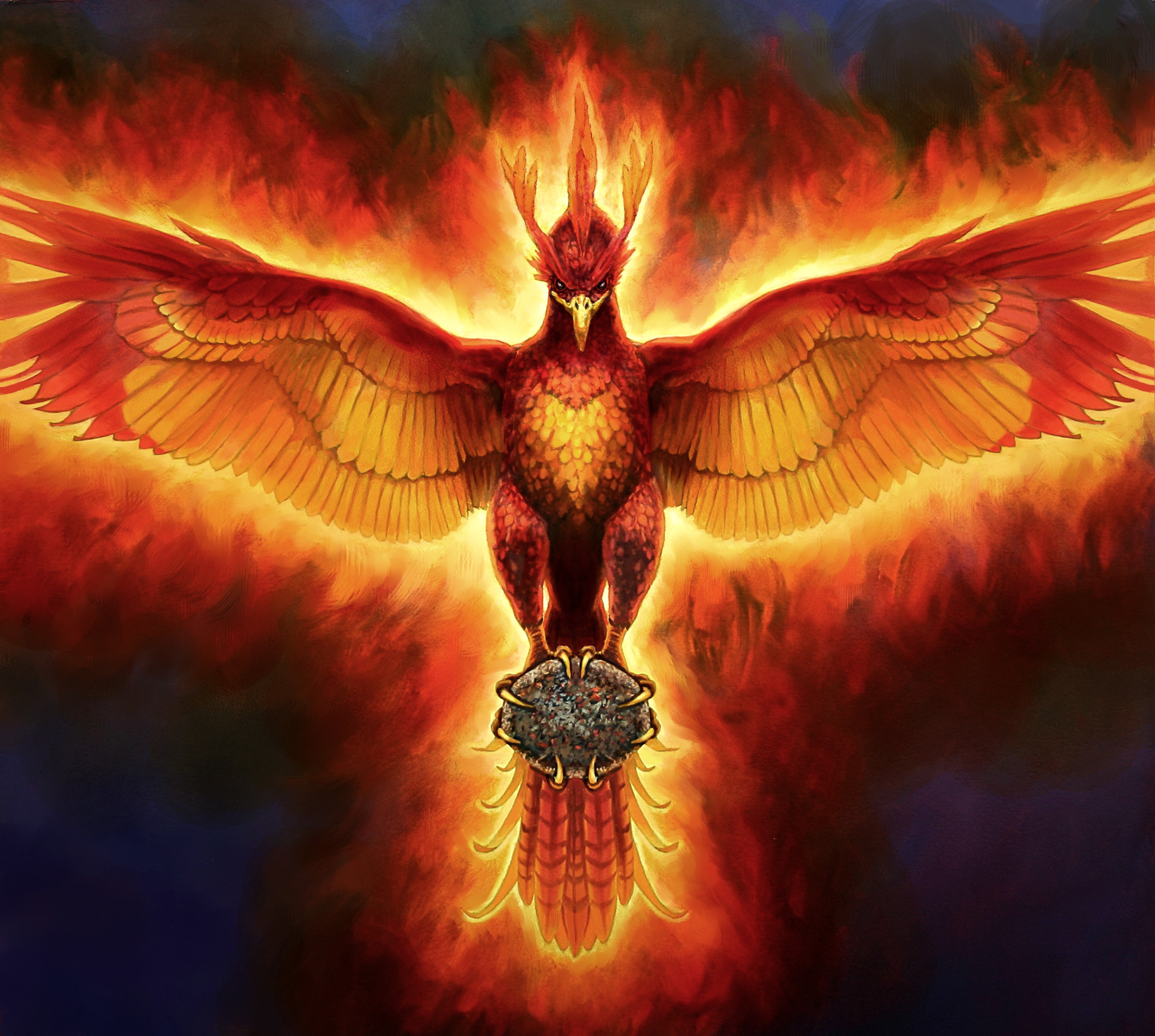 cover art for gift of the phoenix - donna cook