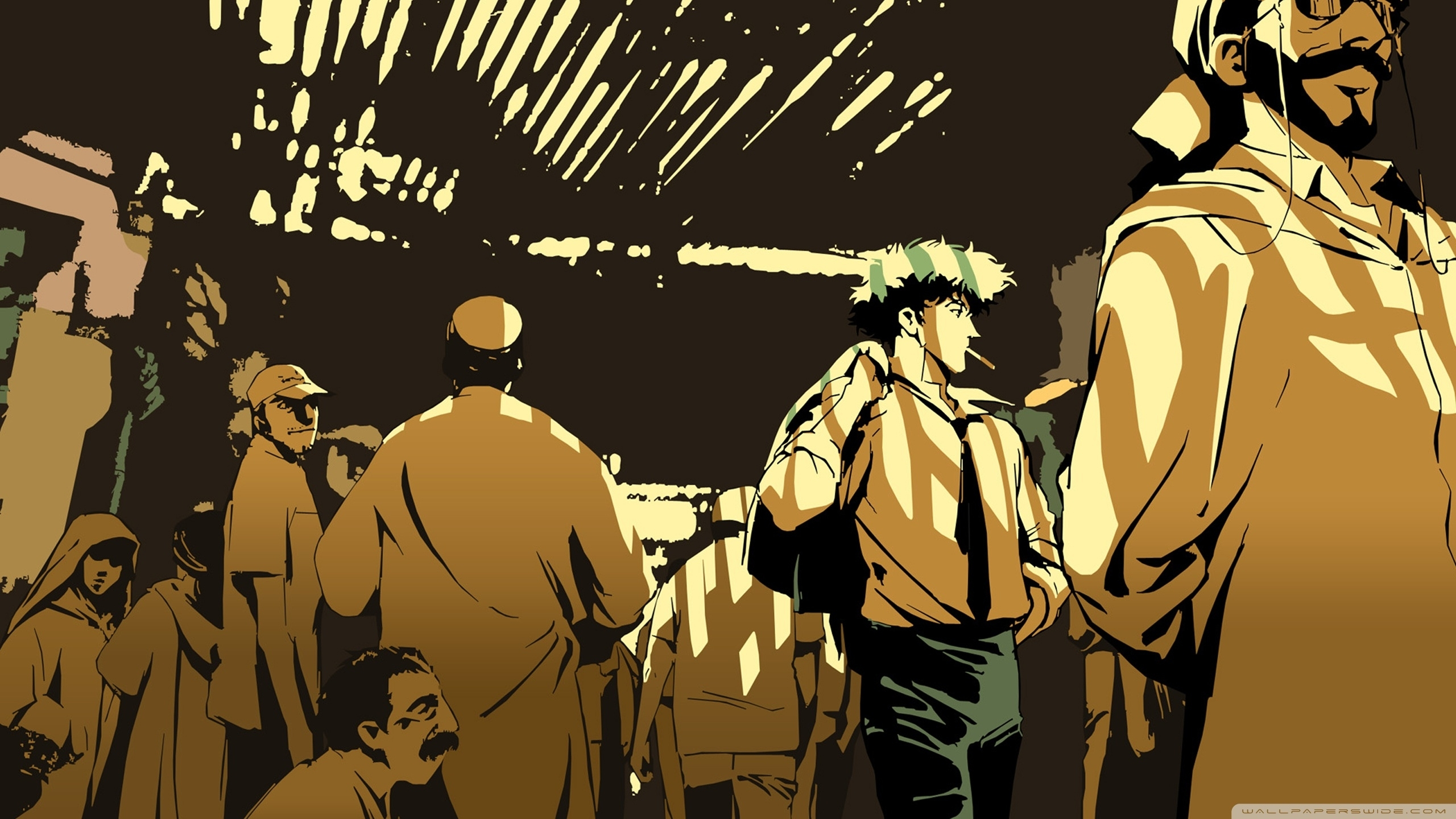 cowboy bebop - crowd ❤ 4k hd desktop wallpaper for 4k ultra hd tv