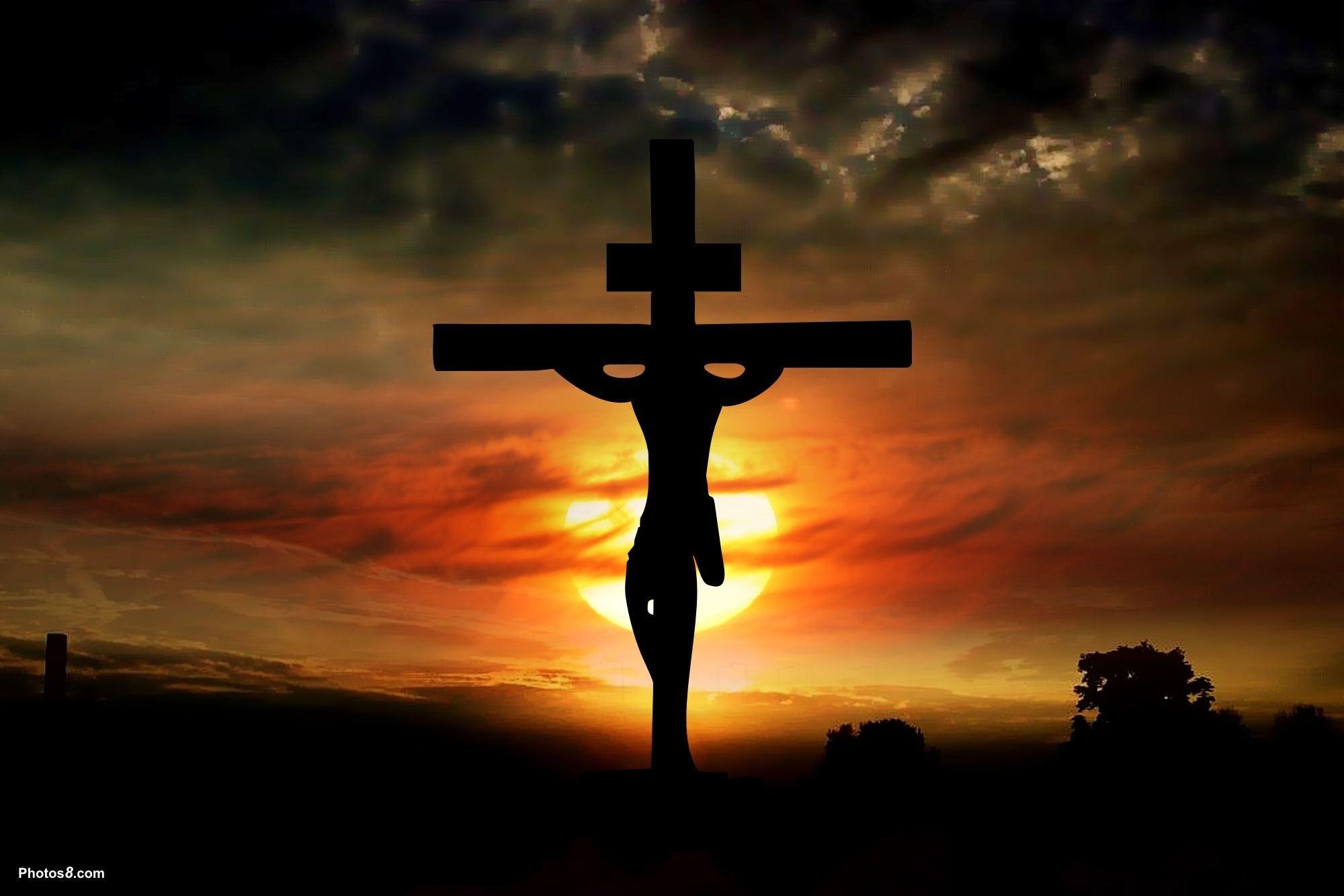 cross jesus wallpapers group (77+)