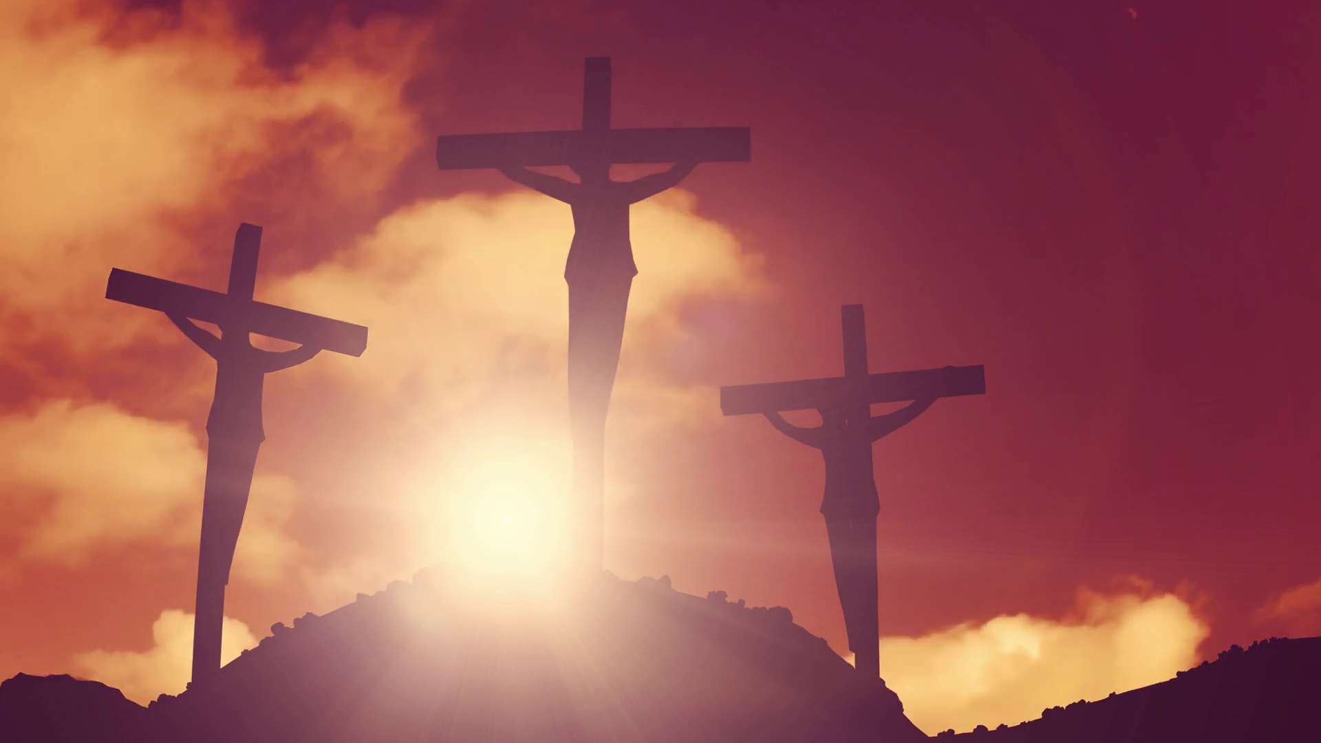 Image Details Source D2v9y0dukr6mq2cloudfront Title Crosses On A Hill Crucifixion Cross Jesus Christ Christian Religion Dimension 1920 X 1080
