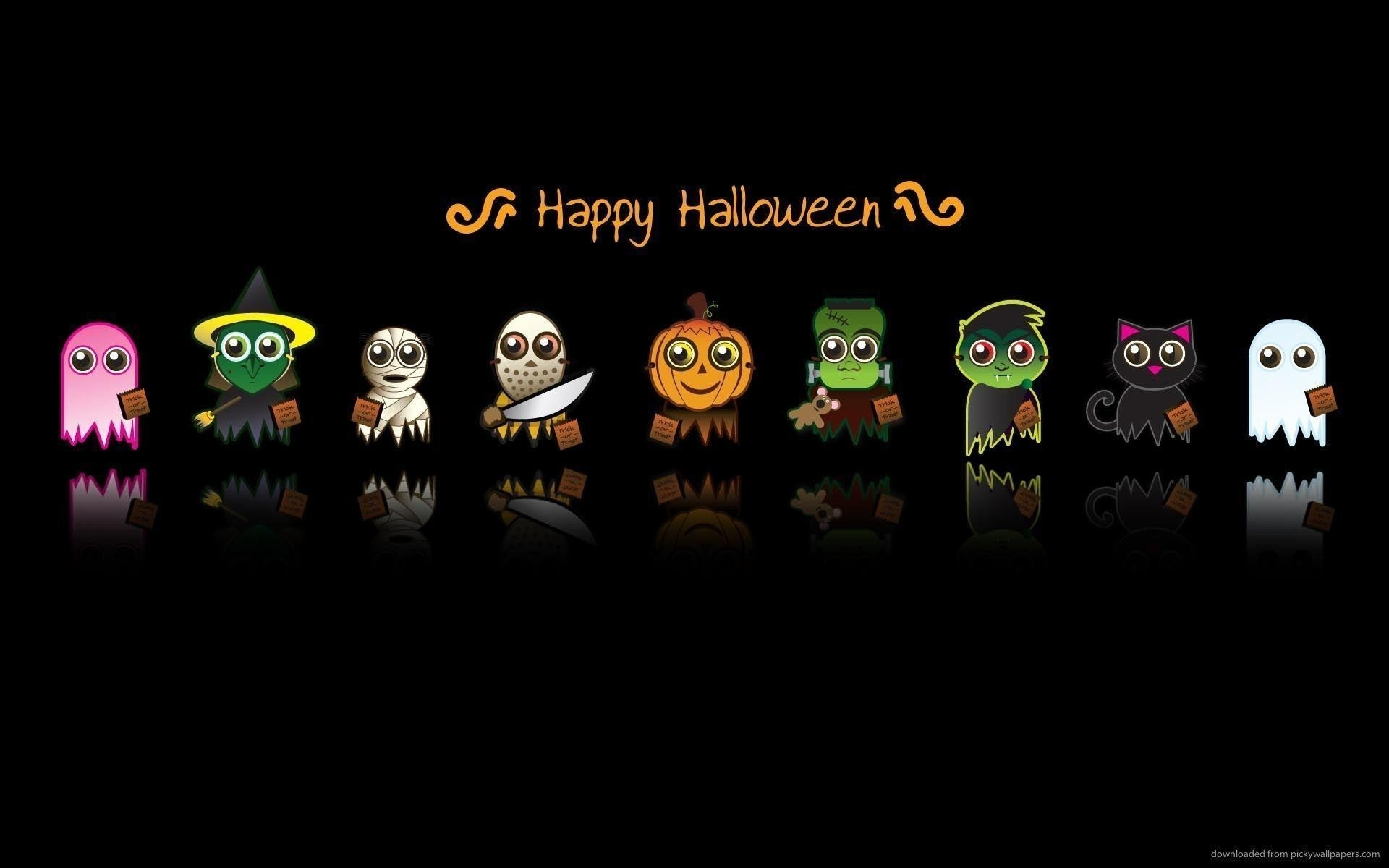 cute halloween desktop wallpapers - wallpaper cave
