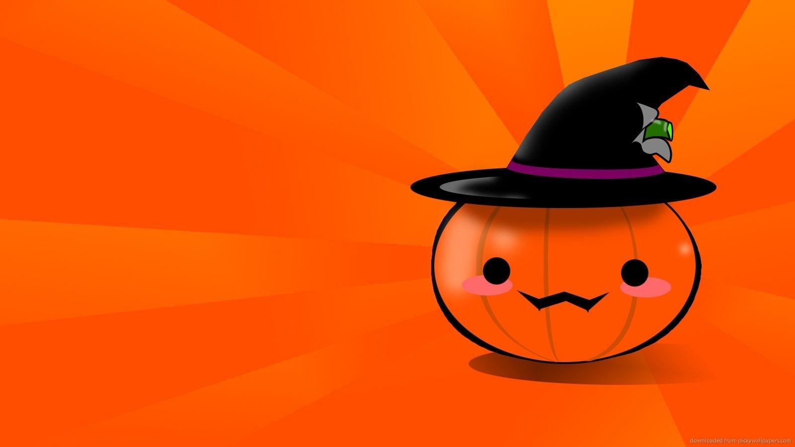 10 Top Cute Pumpkin Halloween Wallpaper FULL HD 1920×1080 ...