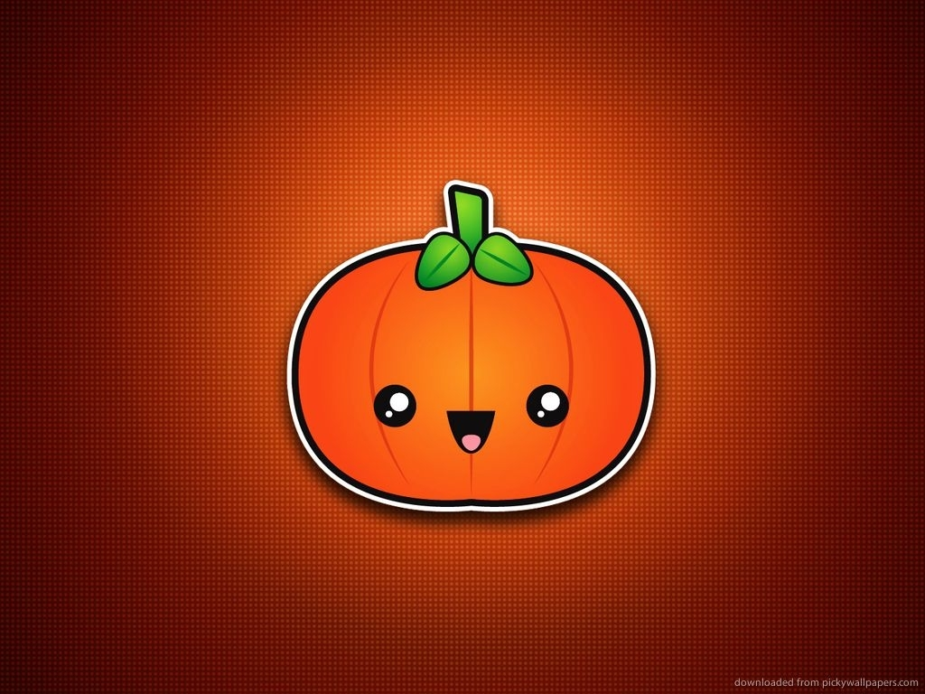 cute pumpkin | minimal/simple halloween wallpapers | pinterest